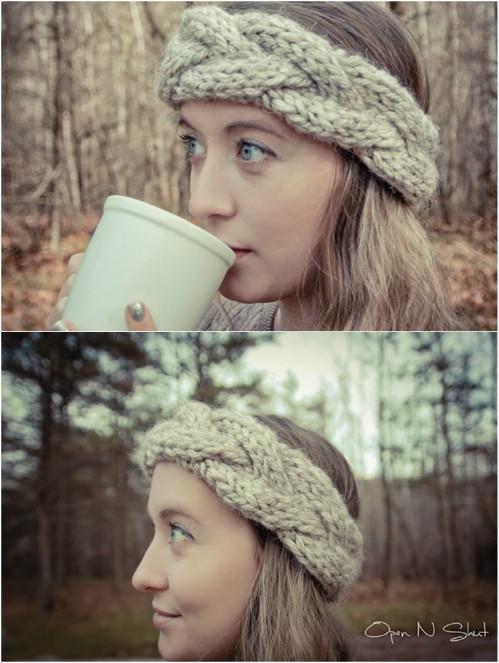 30 einfache und stilvolle stricken und häkeln Stirnband Muster