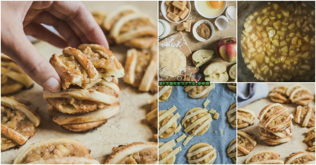 Diese Karamell-Apple-und PB-Torte-Plätzchen sind die vollkommenen Plätzchen für Fall