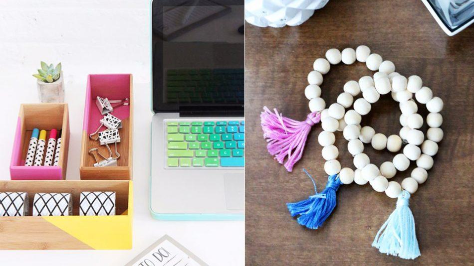 50 coole Crafts, die Sie für weniger als $ 5 machen können