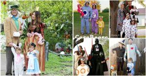 Top 35 kreativste themed DIY Halloween Kostüme für die ganze Familie