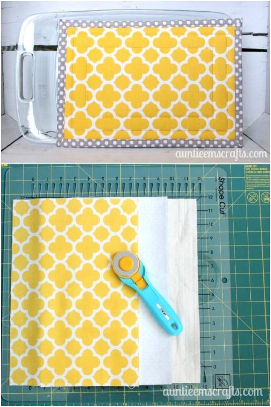 20 einfache DIY Topflappen und Topflappen Sie brauchen in Ihrer Küche - mit kostenlosen Mustern
