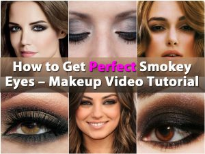 So erhalten Sie perfekte Smokey Eyes - Makeup Video Tutorial