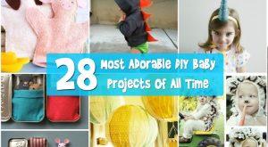 Top 28 bezaubernd DIY Baby-Projekte aller Zeiten