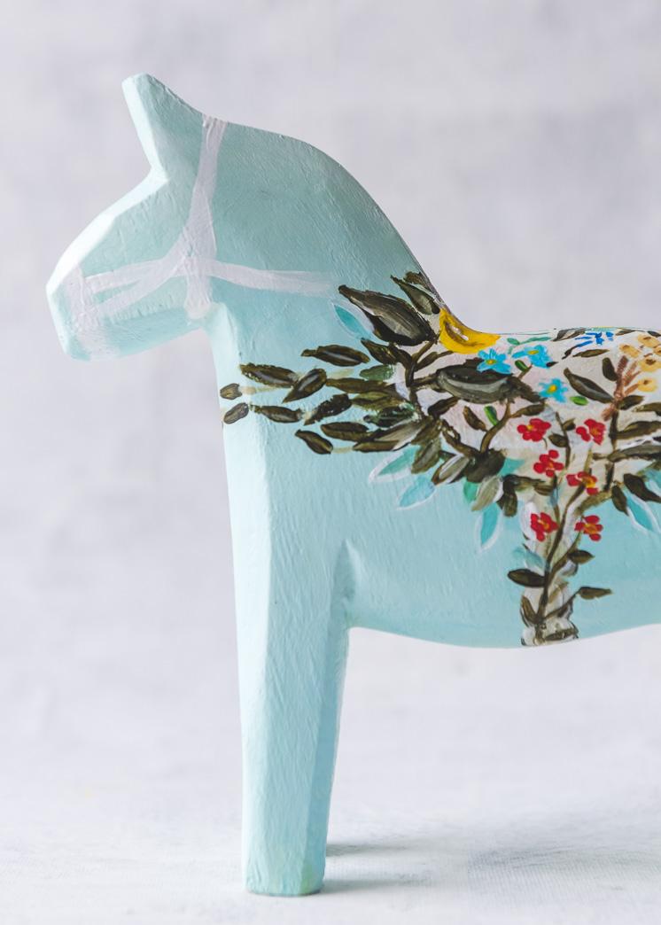 DIY Dala Pferd