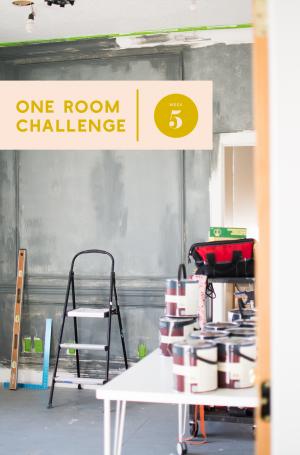 One Room Challenge: Woche 5
