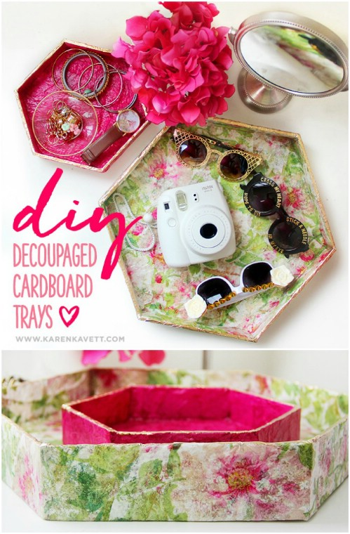 35 Brilliant DIY Repurposing Ideen für Kartons