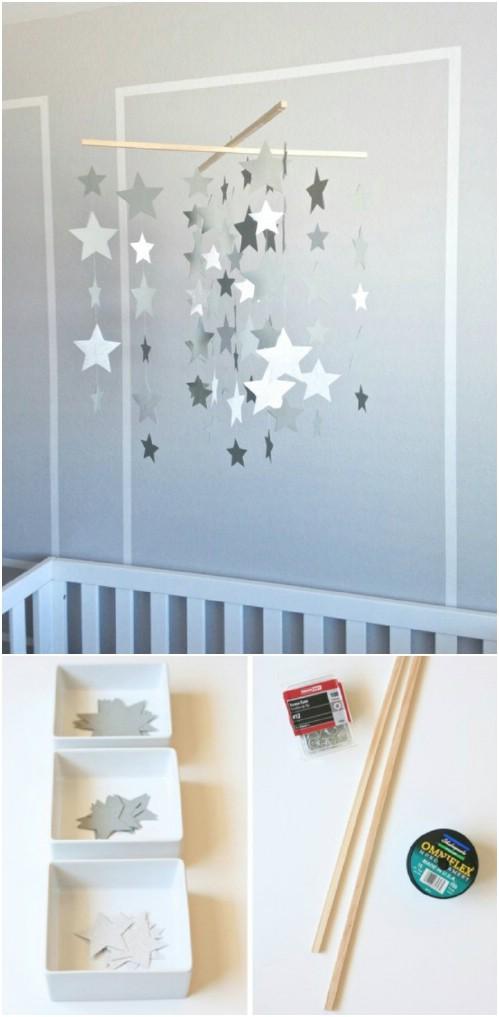 25 entzückende DIY Baby Mobiles, die Charme zu Ihrer Nursery hinzufügen