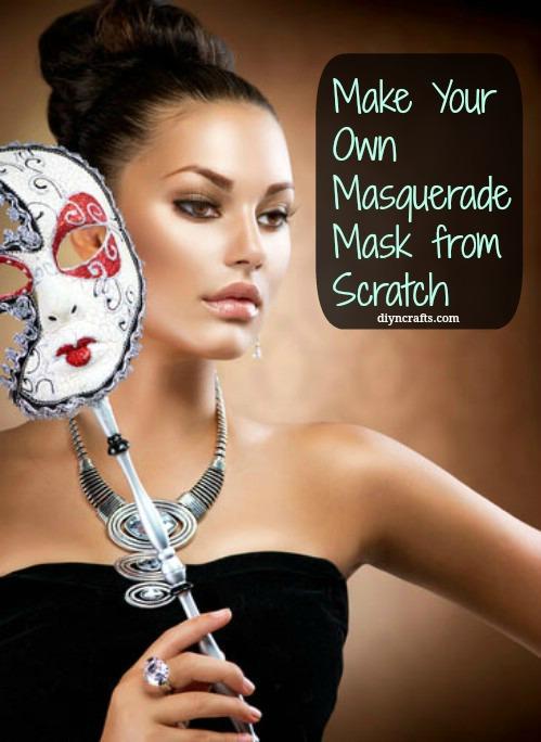 Fabulous DIY - Machen Sie Ihre eigene Maskerade Maske von Grund auf