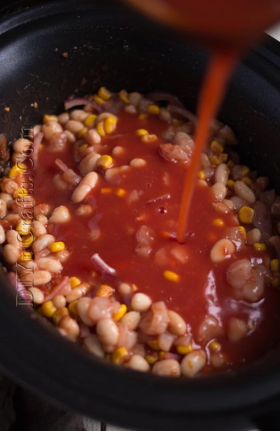 Süße Tortilla-Suppe ist eine gute Alternative zu Taco Night