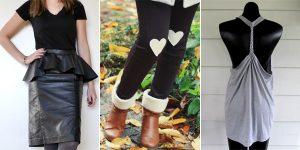 25 entzückende DIY Kleidung Projekte