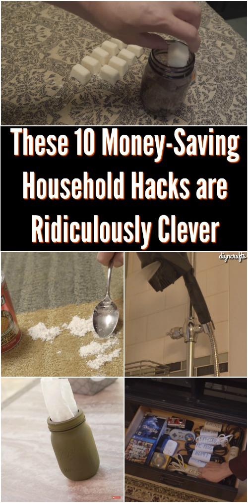Diese 10 Geld sparenden Haushalts Hacks sind lächerlich clever