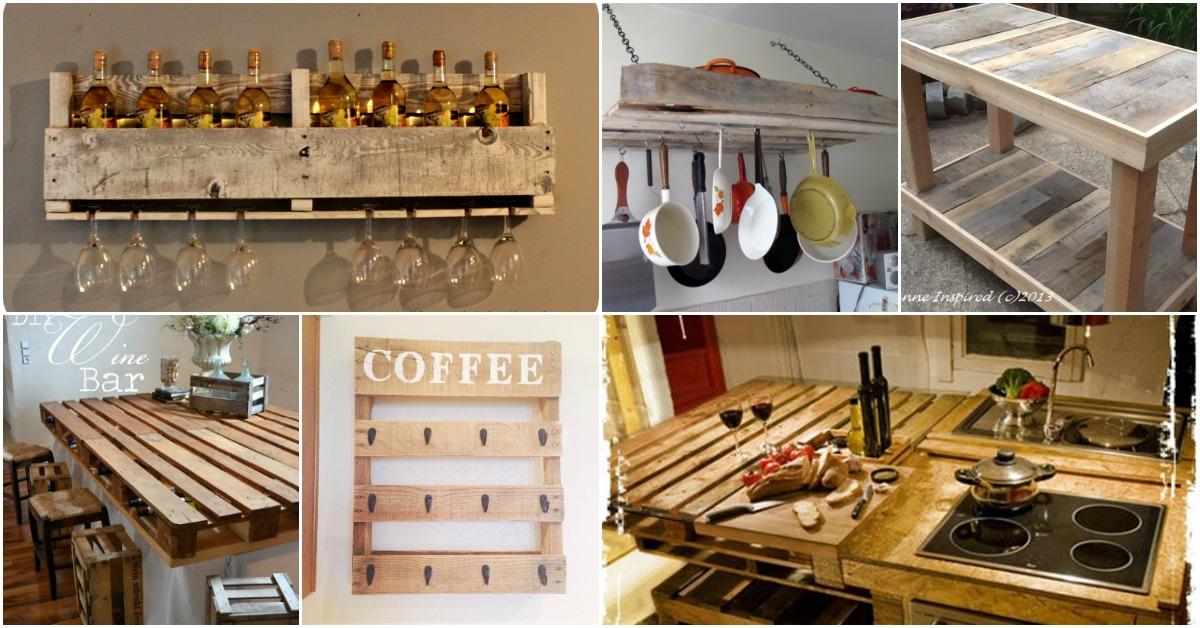 10 Brillant Rustikale Diy Palette Kuchenmobel Ideen Eskiblog