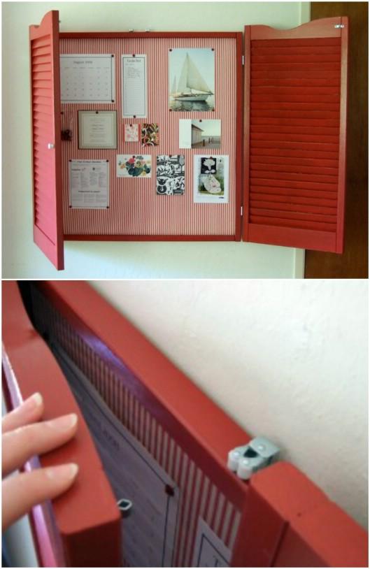 20 Rustic Shutter Repurposing Projekte, um Stil zu Ihrem Zuhause hinzuzufügen