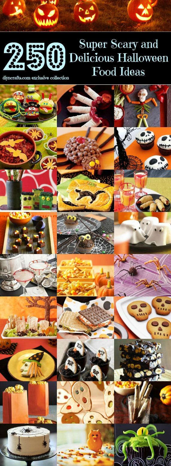 Top 250 Scariest und leckerste Halloween-Food-Ideen