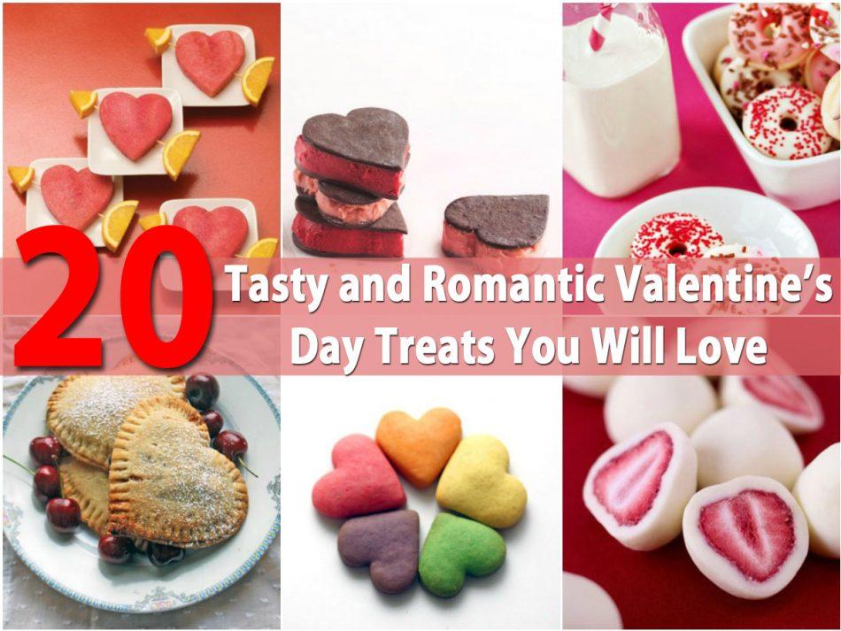 20 leckere und romantische Valentinstag-Leckereien, die Sie lieben werden