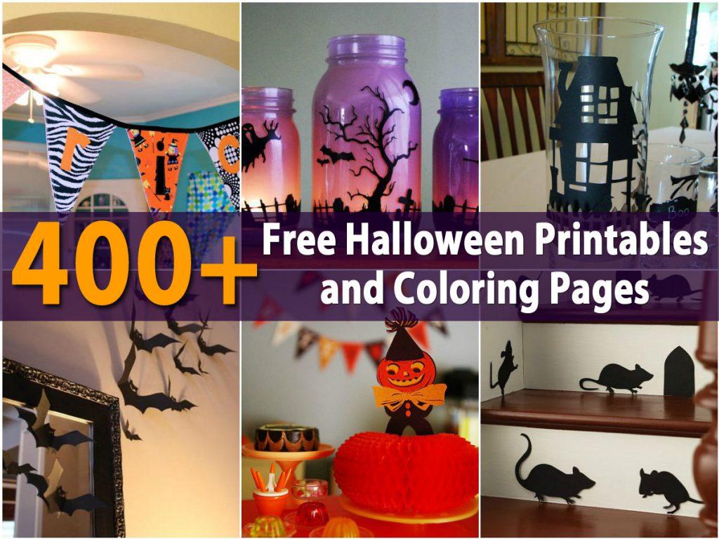400 kostenlose halloween ausdrucke und malvorlagen  eskiblog