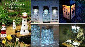 20 Solares Licht Repurposing Ideen, um Ihre Outdoors aufzuhellen