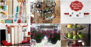 16 Spaß und dekorative Repurposed-Ideen für alte Nudelhölzer