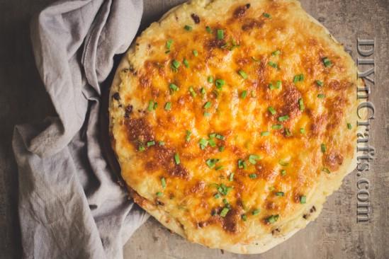 Pierogi Pizza ist eine wunderbare Alternative zu einfachen alten Kartoffelchips