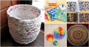 30 erstaunliche Upcycling-Ideen, um Einkaufstüten zu spektakulären Kreationen zu machen