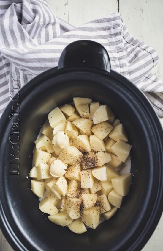 Crockpot-Kartoffelpürees lassen Ihre Gäste um mehr bitten
