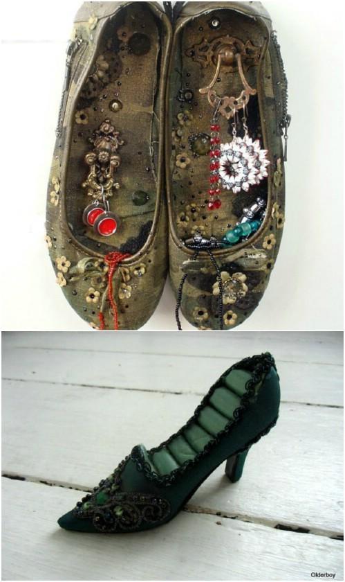10 Überraschende Neuverwendung von Ideen für alte Schuhe, an die Sie nie gedacht haben