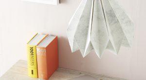 DIY Origami Lampenschirm