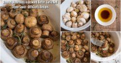 Geröstete Pilze mit Knoblauch und Thymian machen jede Mahlzeit zu einem besonderen Anlass