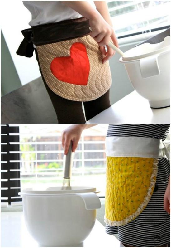 20 DIY-Schürzen mit kostenlosen Mustern, die Sie modisch halten
