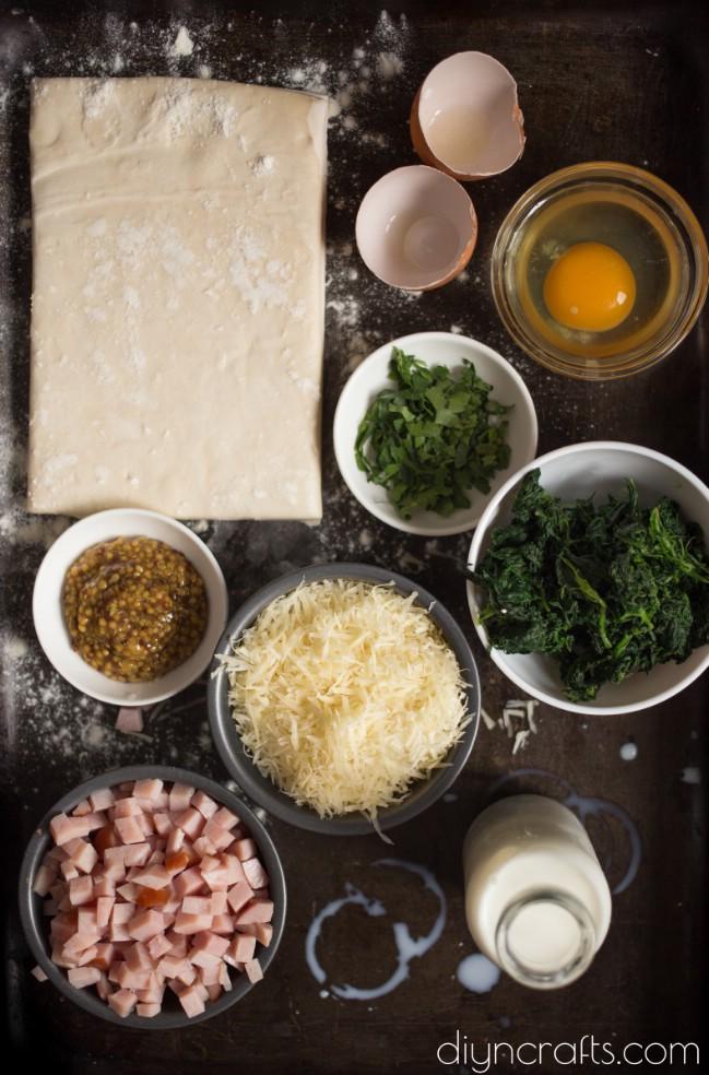 Leckere Schinken-Käse-Puffs - ein Snack im Himmel
