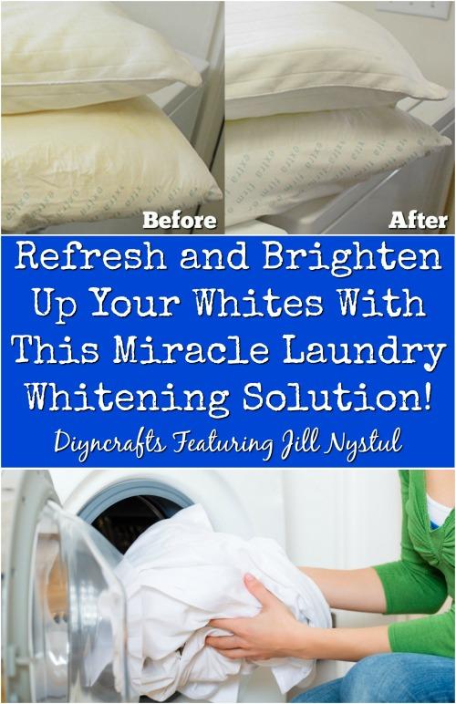 Aktualisieren und erhellen Sie Ihre Weißen mit dieser erstaunlichen DIY Whitening-Lösung!