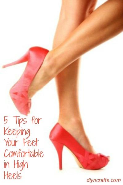 5 Tipps, um Ihre Füße in High Heels bequem zu halten