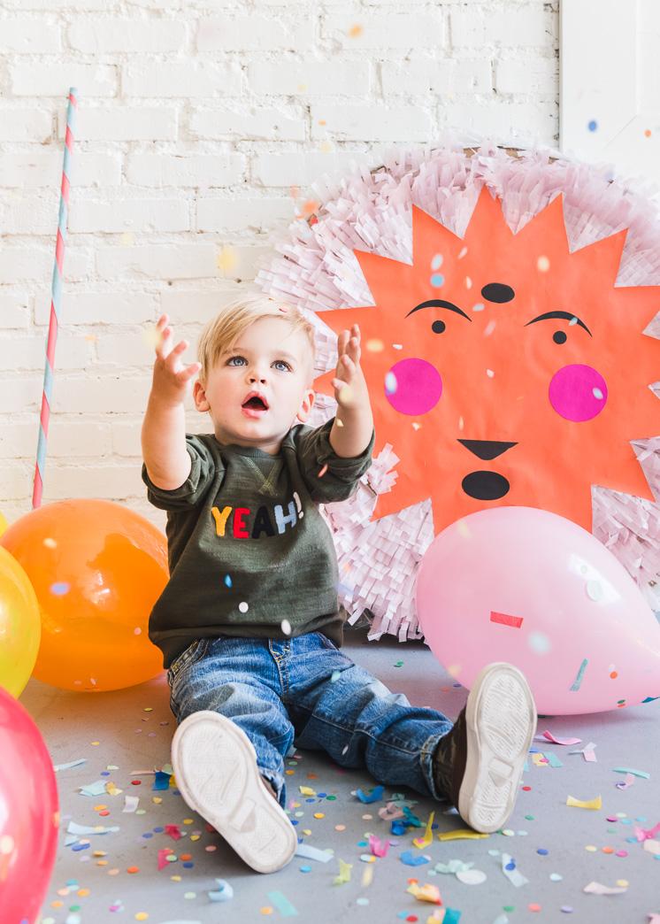 Sunshine Piñata zum Lächeln!