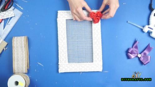 Wie man einen dekorativen hängenden DIY Schmuck-Organisator macht