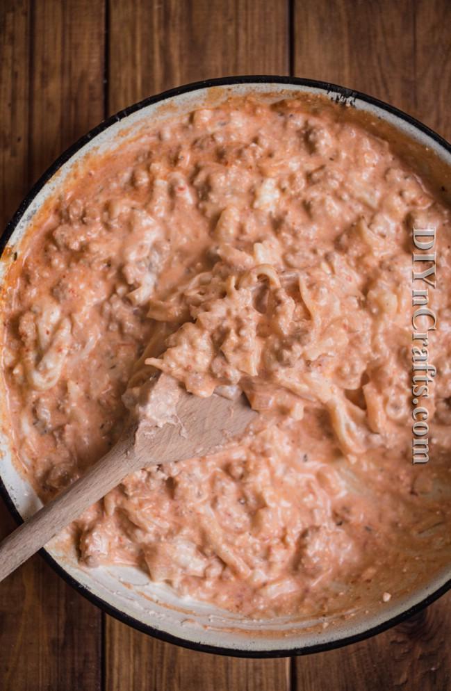 Delicious Baked Ziti Rezept, das Sie in weniger als einer Stunde machen können