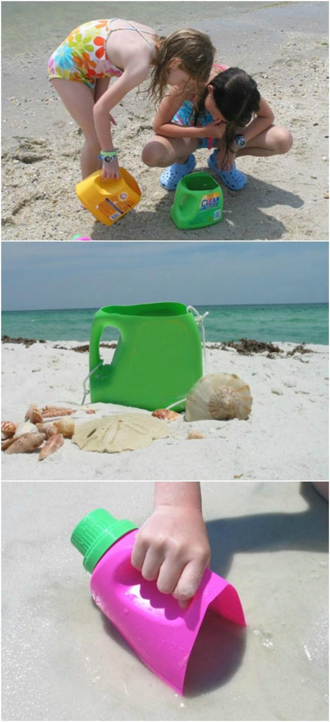 25 Spaß und kreative Möglichkeiten Upcycle leere Waschmittel Flaschen