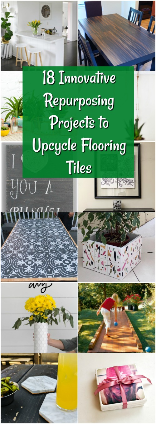 18 Innovative Umwidmungsprojekte für Upcycle Flooring Tiles