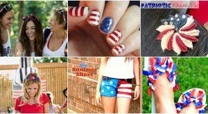 30 patriotischen vierten Juli Mode Ideen für alle in der Familie