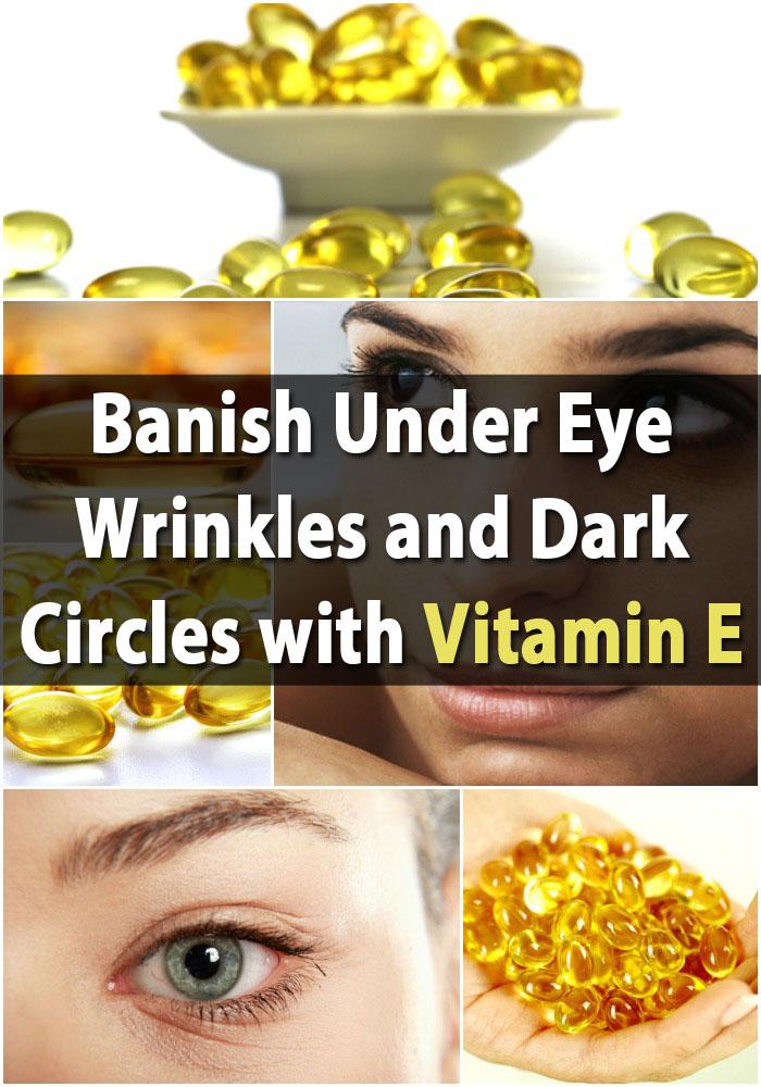 Genius Frugal Beauty Treatment: Verbannen Sie unter Augenfalten und Augenringe mit Vitamin E