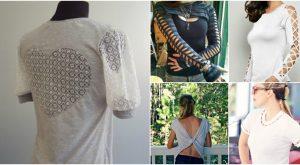 68 Spaß und Flirty Möglichkeiten, Ihre T-Shirts neu zu gestalten