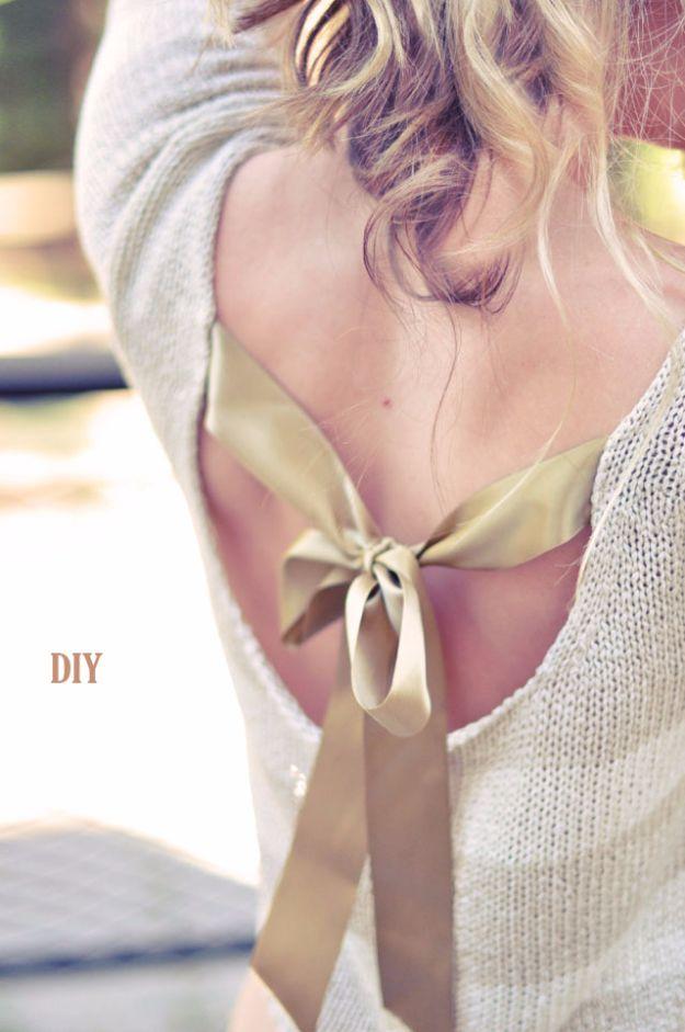 Ihre Garderobe braucht diese 36 DIY Fashion Ideas