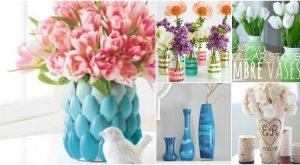 30 einfache DIY Vasen, um Ihre Sommerblumen vorzuführen