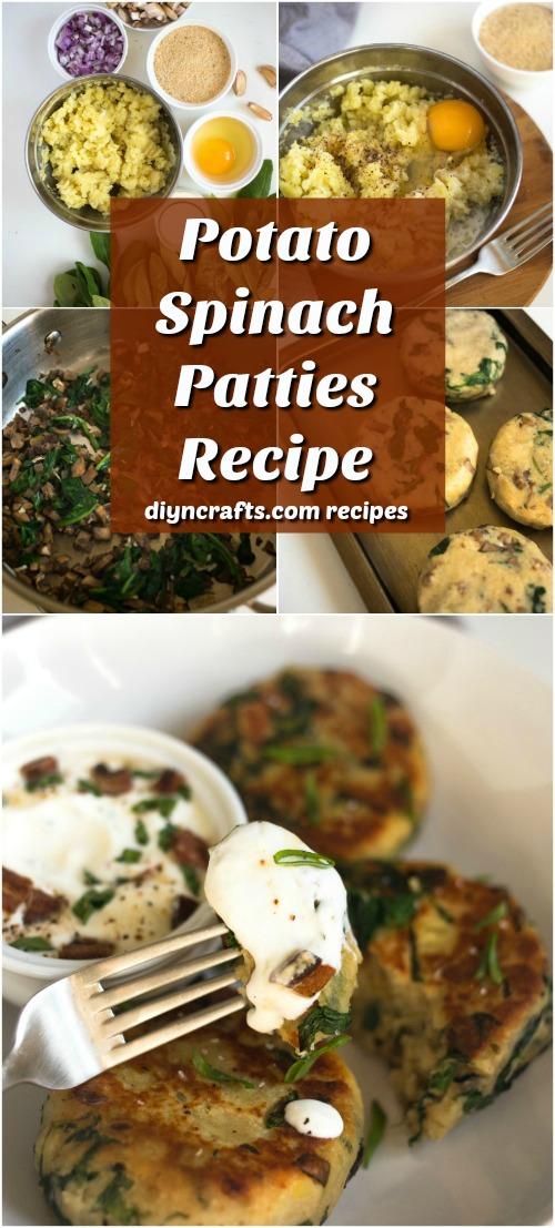 Diese Kartoffel-Spinat-Pastetchen setzen eine köstliche Torsion auf einen alten Zeit-Liebling