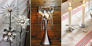 20 erstaunliche Dinge mit alten Besteck zu machen