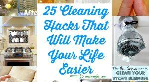 25 Reinigungs-Hacks, die Ihr Leben einfacher machen