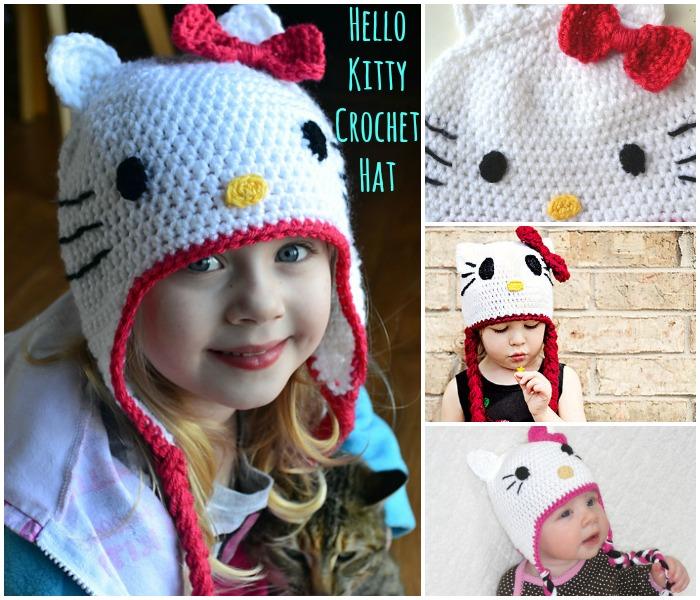 KOSTENLOSE Häkelanleitung: Wunderschöner Hello Kitty Hut