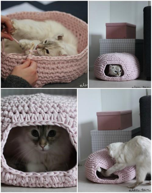 20 Purrfect DIY Projekte für Katzenbesitzer