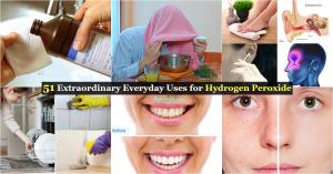 51 Außergewöhnliche Alltagsanwendungen für Wasserstoffperoxid