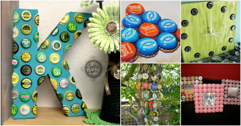 25 Flaschendeck Upcycling-Projekte, die Flair zu Ihnen nach Hause bringen