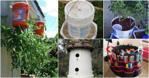 20 Borderline Genius DIY-Ideen für die Umwidmung fünf Gallonen Eimer